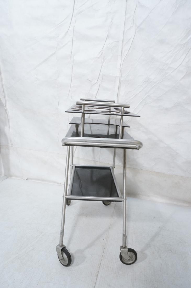 AERO-ART Prod. Retro Aluminum Rolling Bar Cart. A - 6