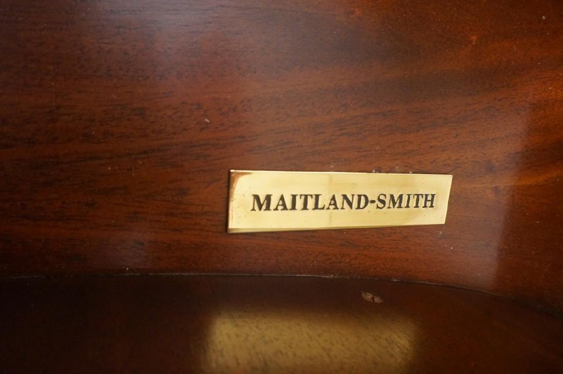 Pr MAITLAND SMITH Neo Classical Mahogany Console - 6