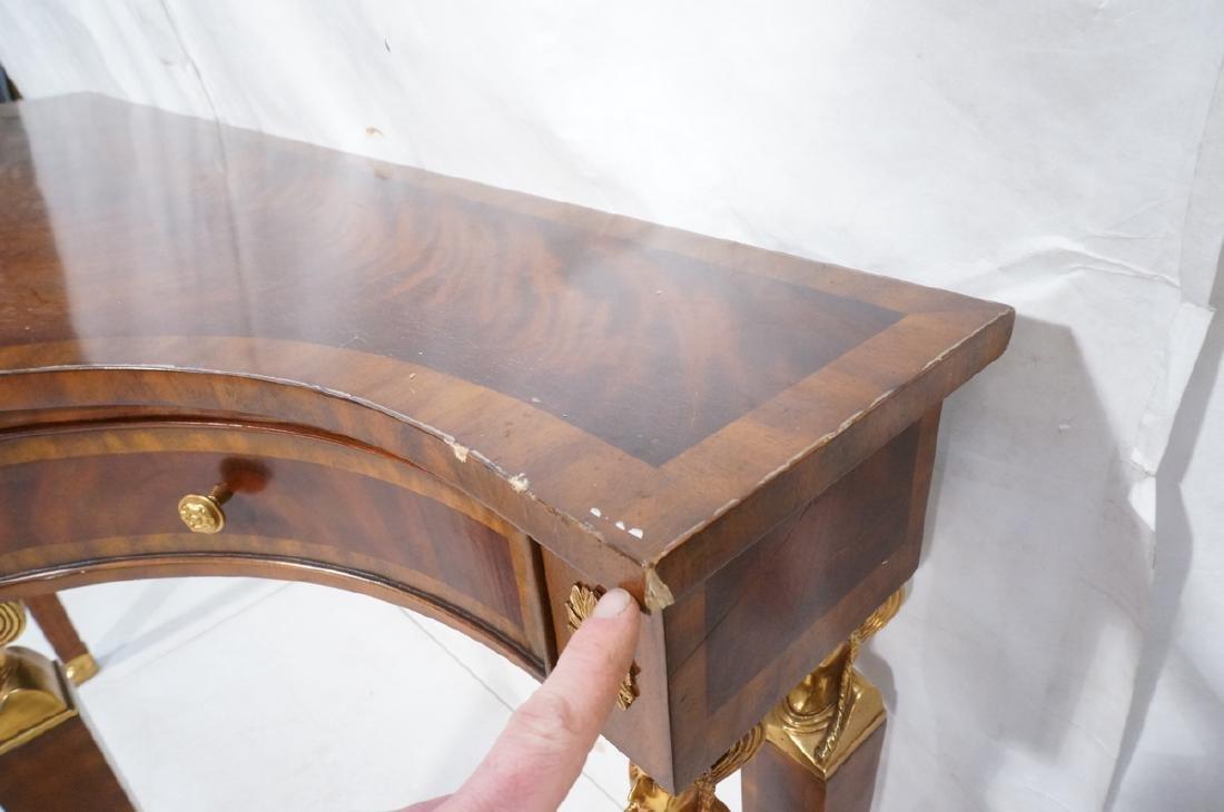 Pr MAITLAND SMITH Neo Classical Mahogany Console - 9