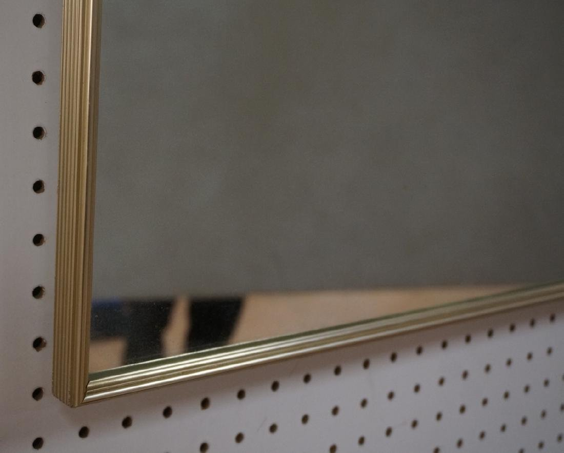 Large Mid Century Wall Mirror. Thin Metal Frame. - 4