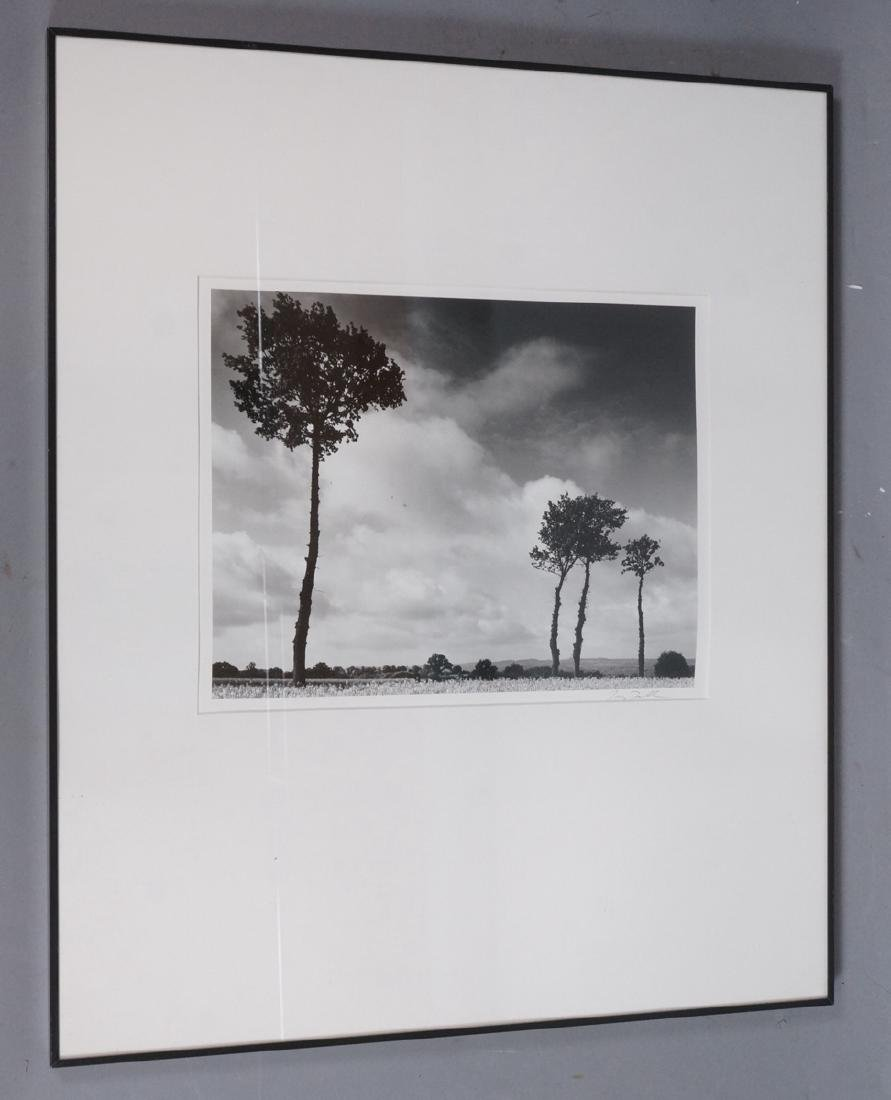 Signed Black & White Landscape Photograph. Titled