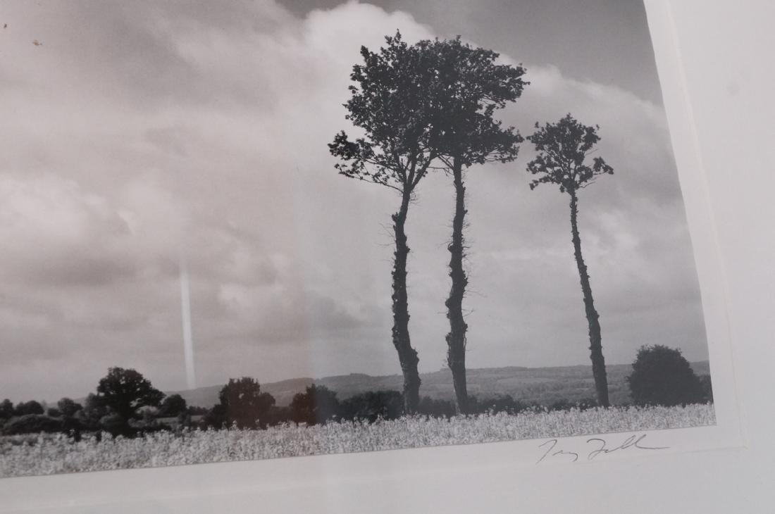 Signed Black & White Landscape Photograph. Titled - 8