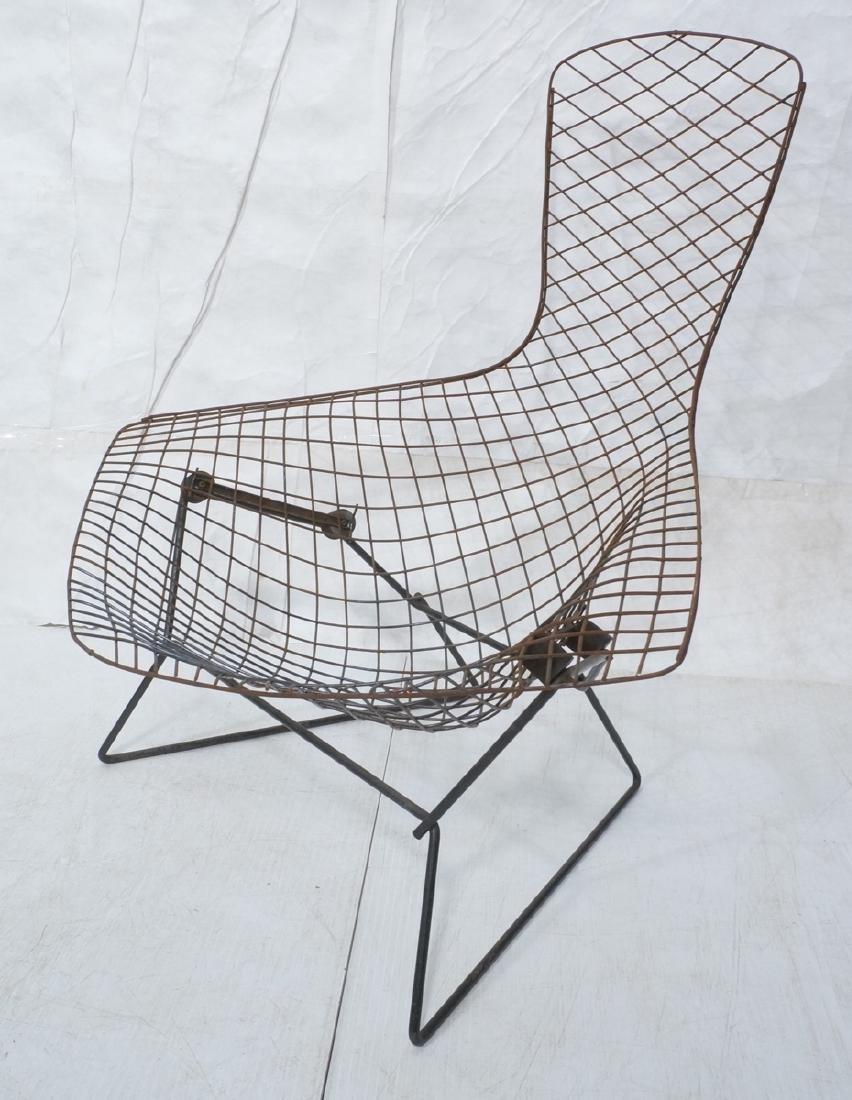 HARRY BERTOIA Bird Lounge Chair Frame. Tall back