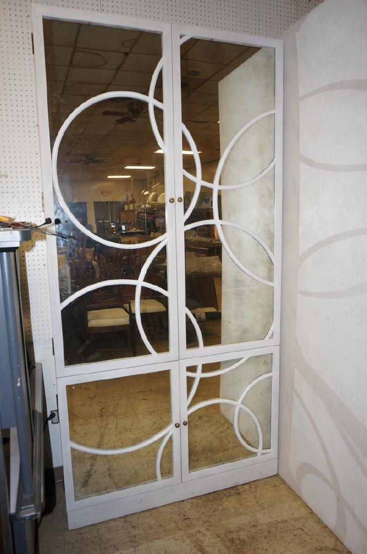 2 Prt JULIAN CHICHESTER Modern Tall Mirror Front