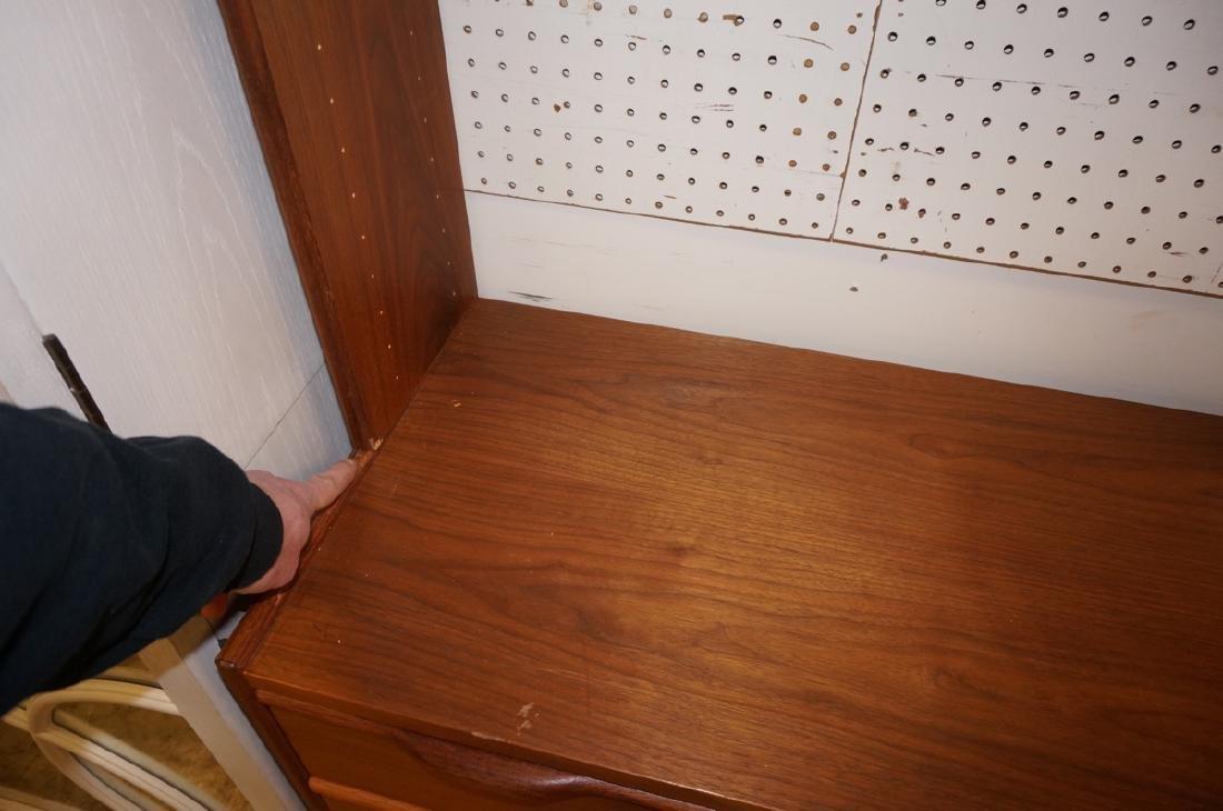 Danish Teak Modular Shelf Desk Unit. Bottom level - 10