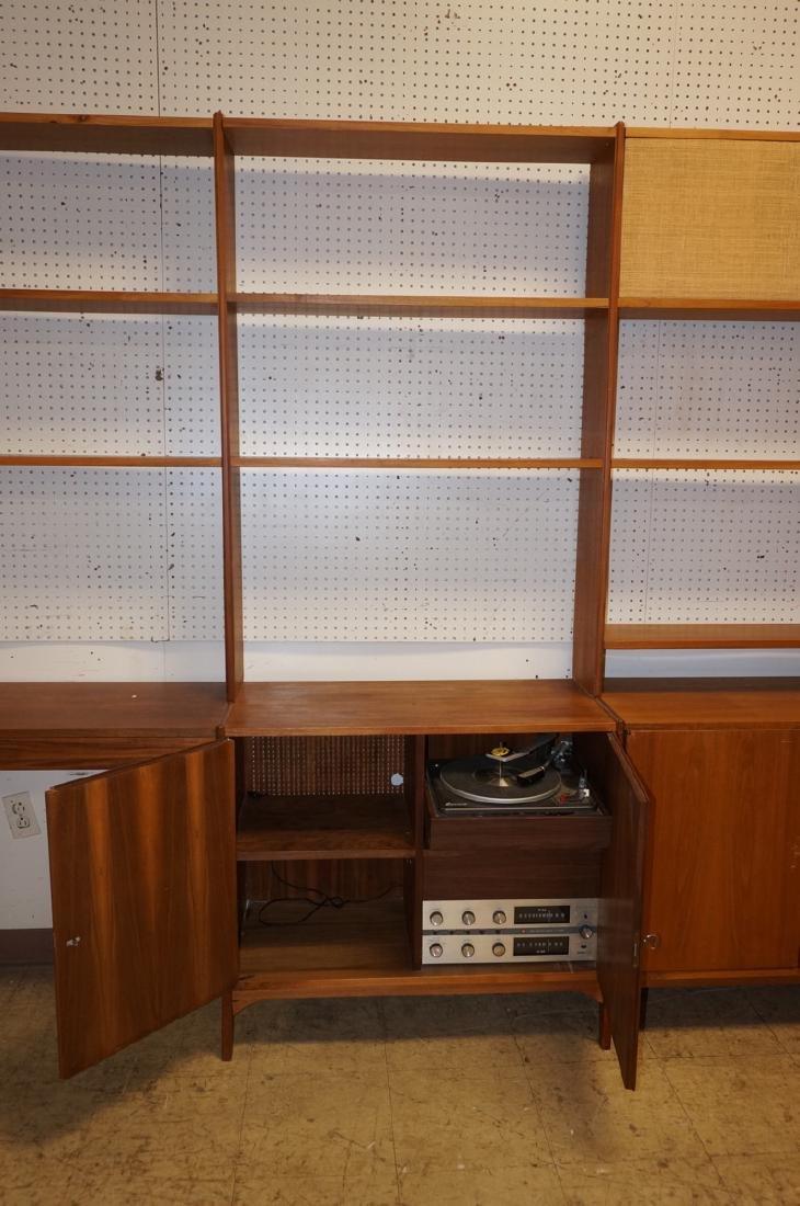 Danish Teak Modular Shelf Desk Unit. Bottom level - 4