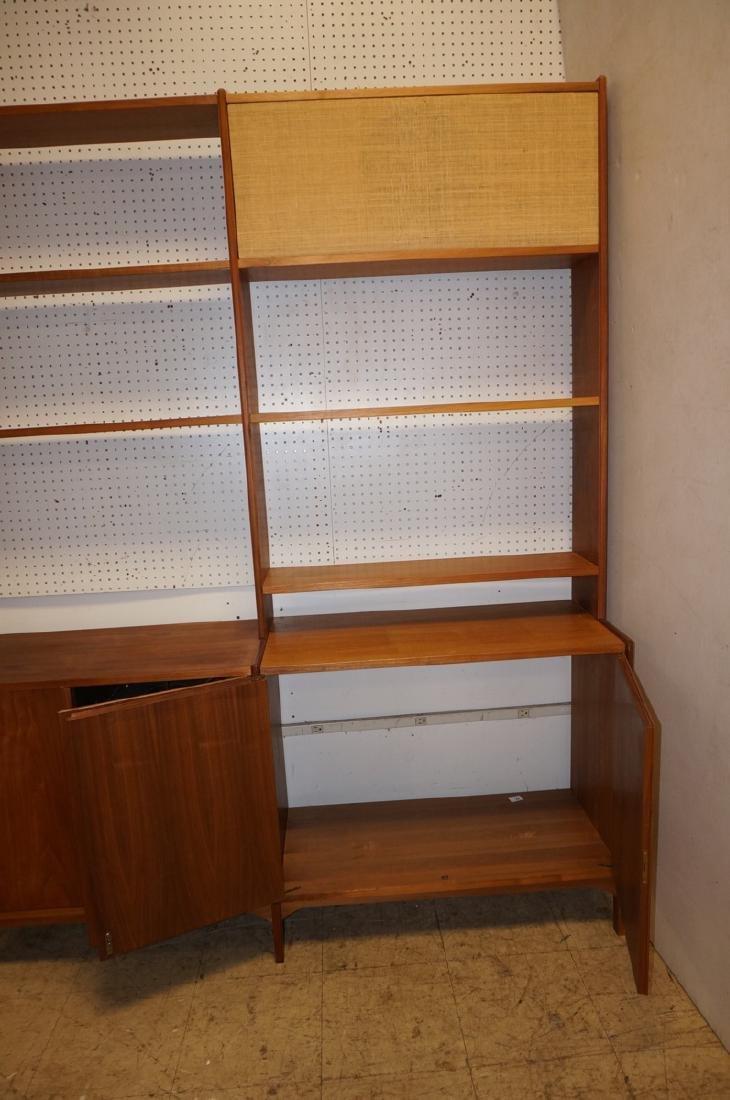Danish Teak Modular Shelf Desk Unit. Bottom level - 8