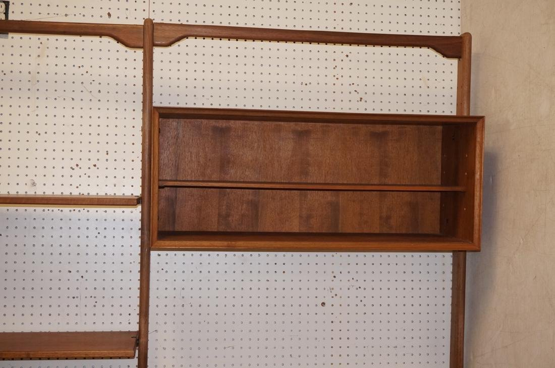 American Modern Walnut Shelf Cabinet Unit. Open c - 6