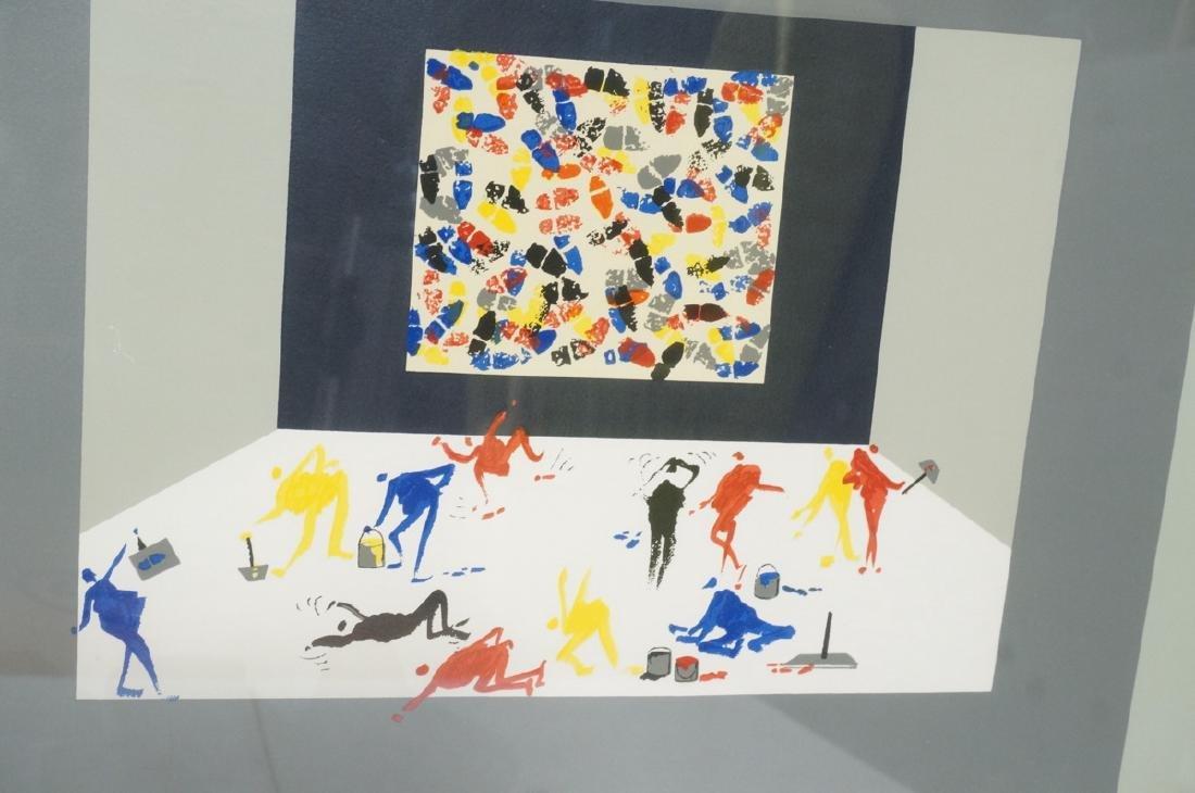 LEOPOSILLICO Silkscreen Print Primary Colored Foo - 4