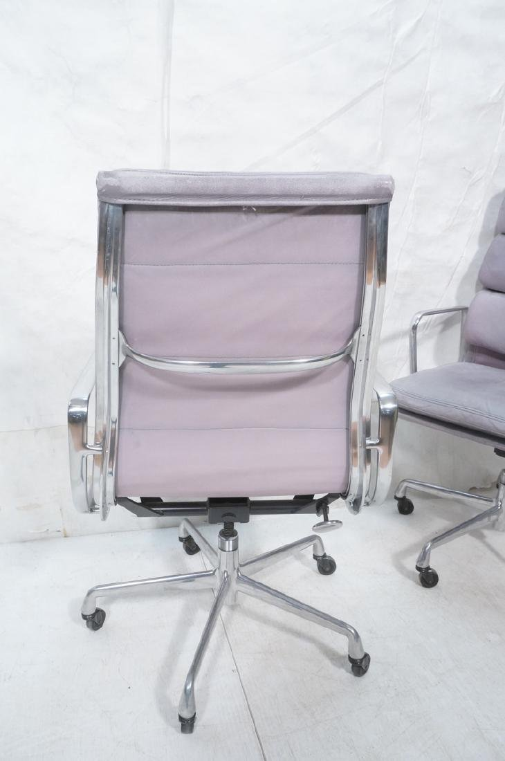 Pair Herman Miller Aluminum Group Soft Pad Chairs - 6