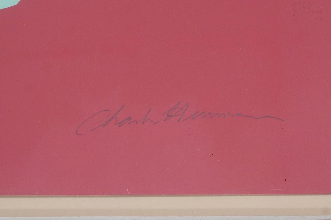 Charles Hinman Op art Serigraph Print.  70/200 Em - 2