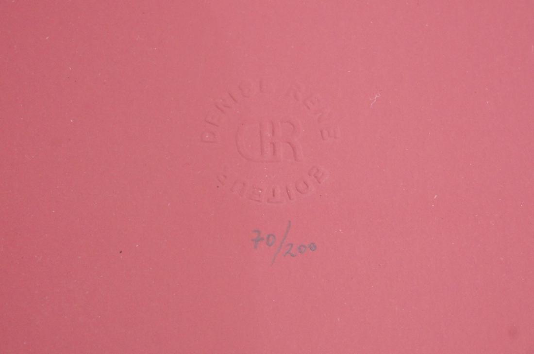 Charles Hinman Op art Serigraph Print.  70/200 Em - 3