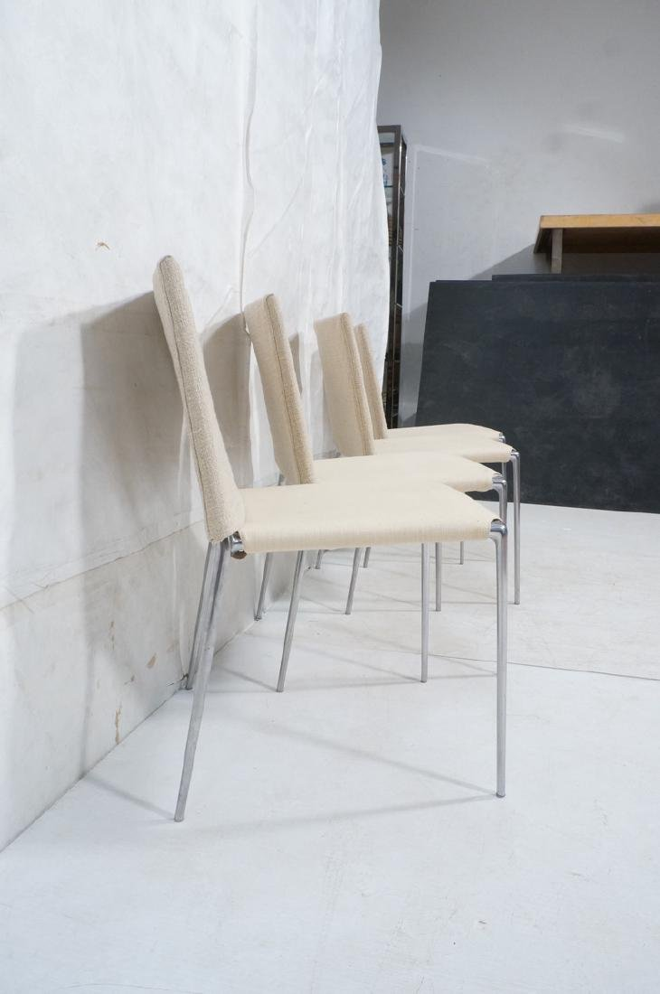 Set 4 B&B Italia Side Dining Chairs. Slip cover s - 4