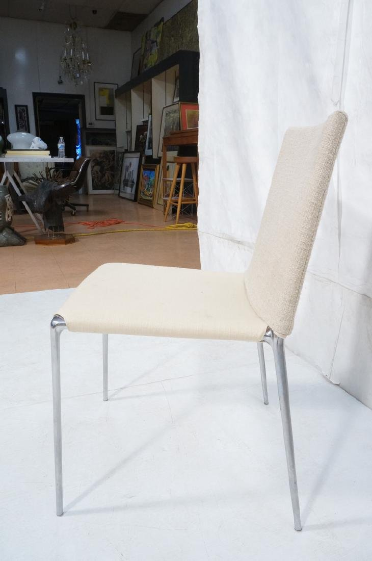 Set 4 B&B Italia Side Dining Chairs. Slip cover s - 6