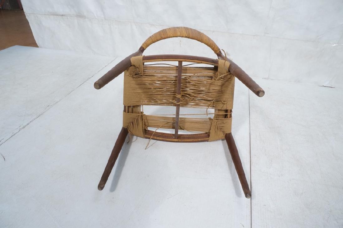 HANS WEGNER Attrib Danish Bull Horn Lounge Chair. - 8