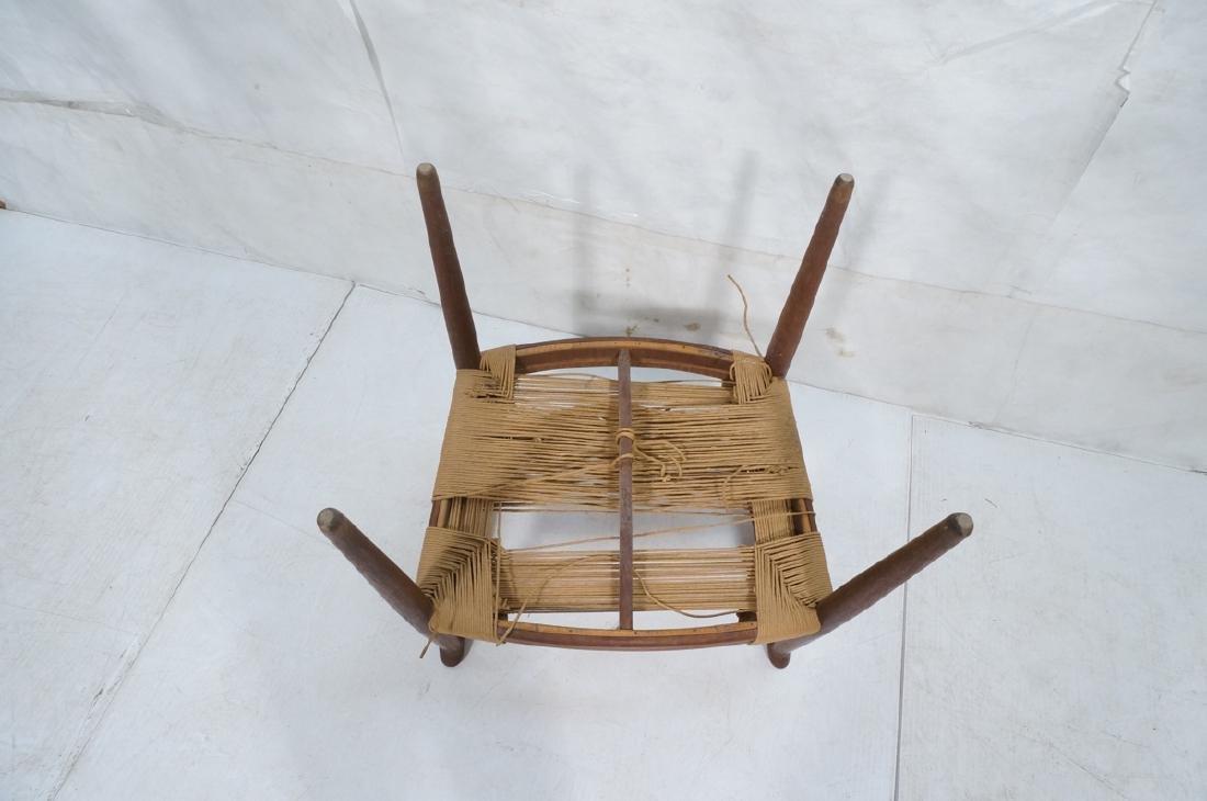 HANS WEGNER Attrib Danish Bull Horn Lounge Chair. - 9