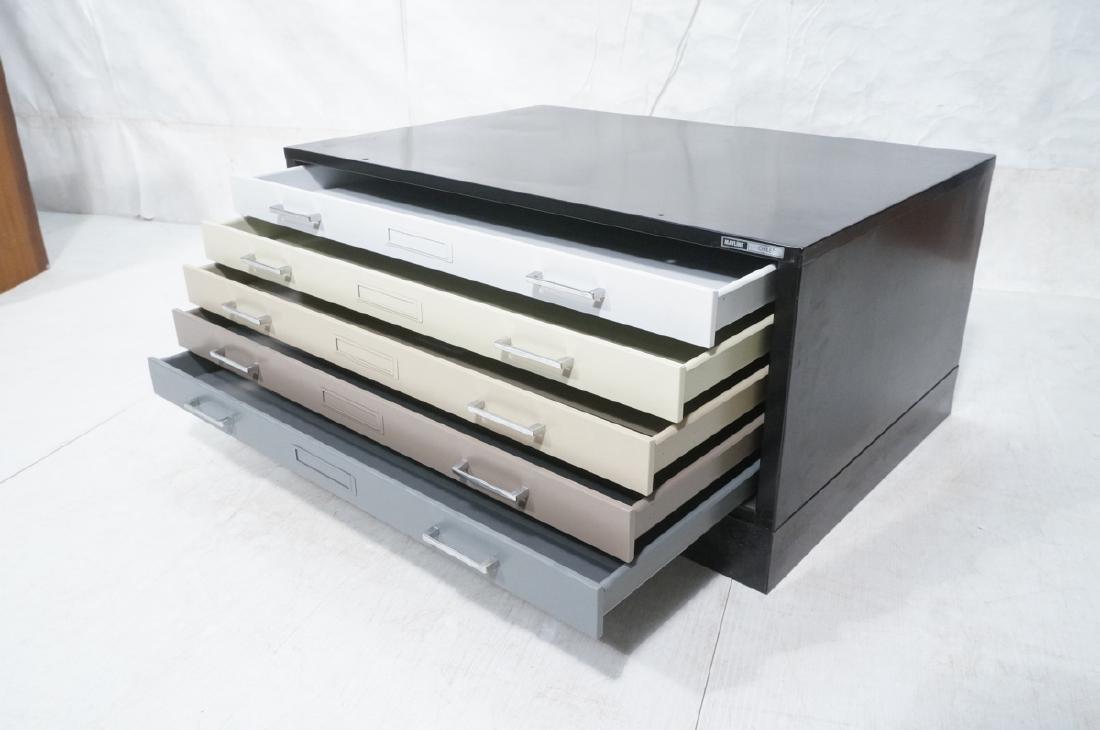 MAYLINE Metal Map Case Horizontal File Cabinet 5 - 7