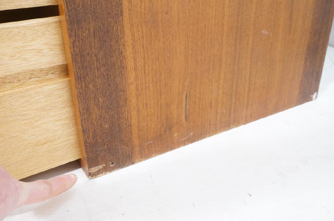 2pc Walnut Wall Mounted Cabinets. Walnut case and - 10