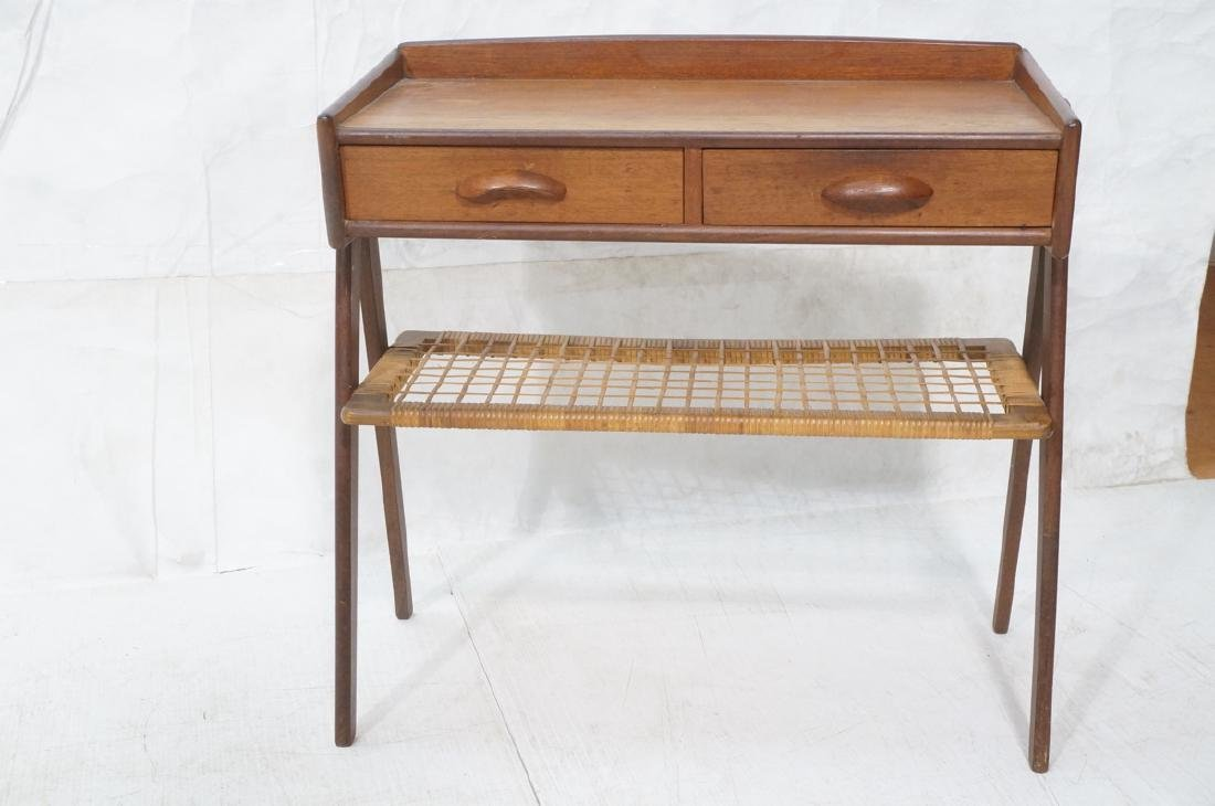 Danish Teak Small Occasional Table. Dark stained - 2