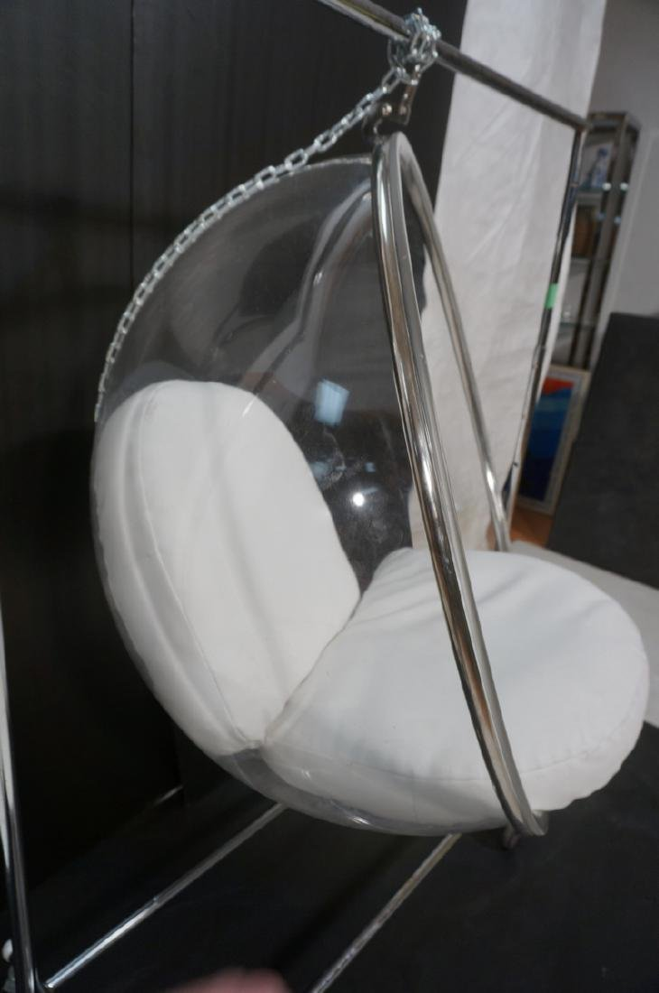 Clear Lucite Bubble Hanging Lounge Chair. Eero Aa - 4