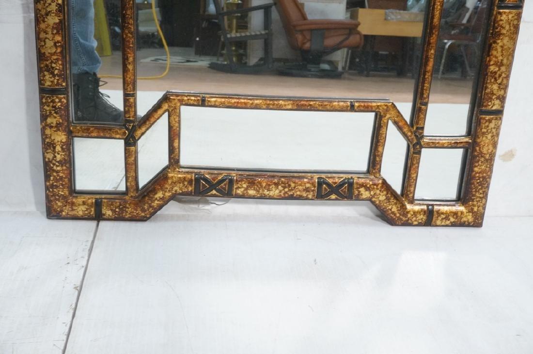 Decorator Tortoise Finish Wall Mirror. Decorative - 8