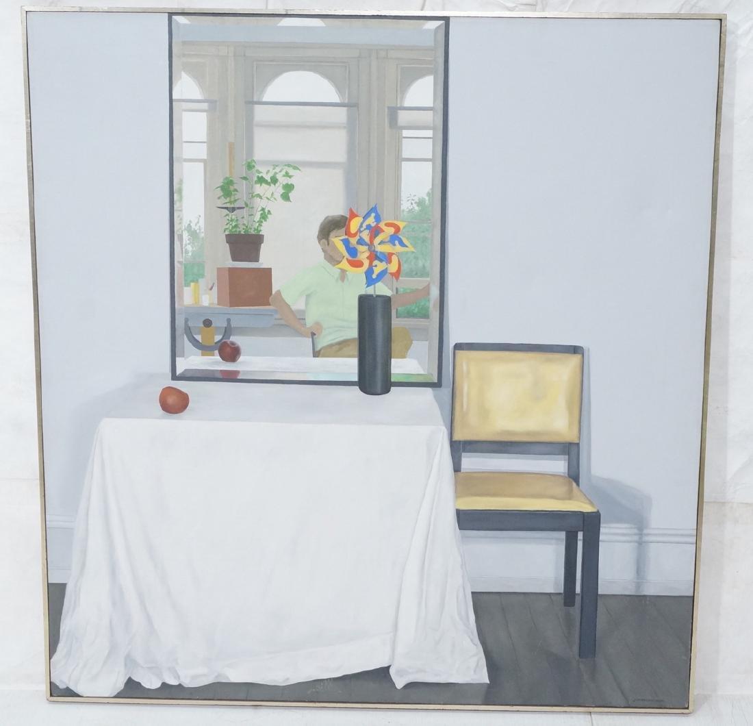 "JESSE VANDENBURG ""Red Apple"" Oil Painting. Still"