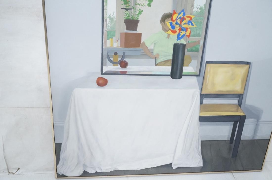 "JESSE VANDENBURG ""Red Apple"" Oil Painting. Still - 4"