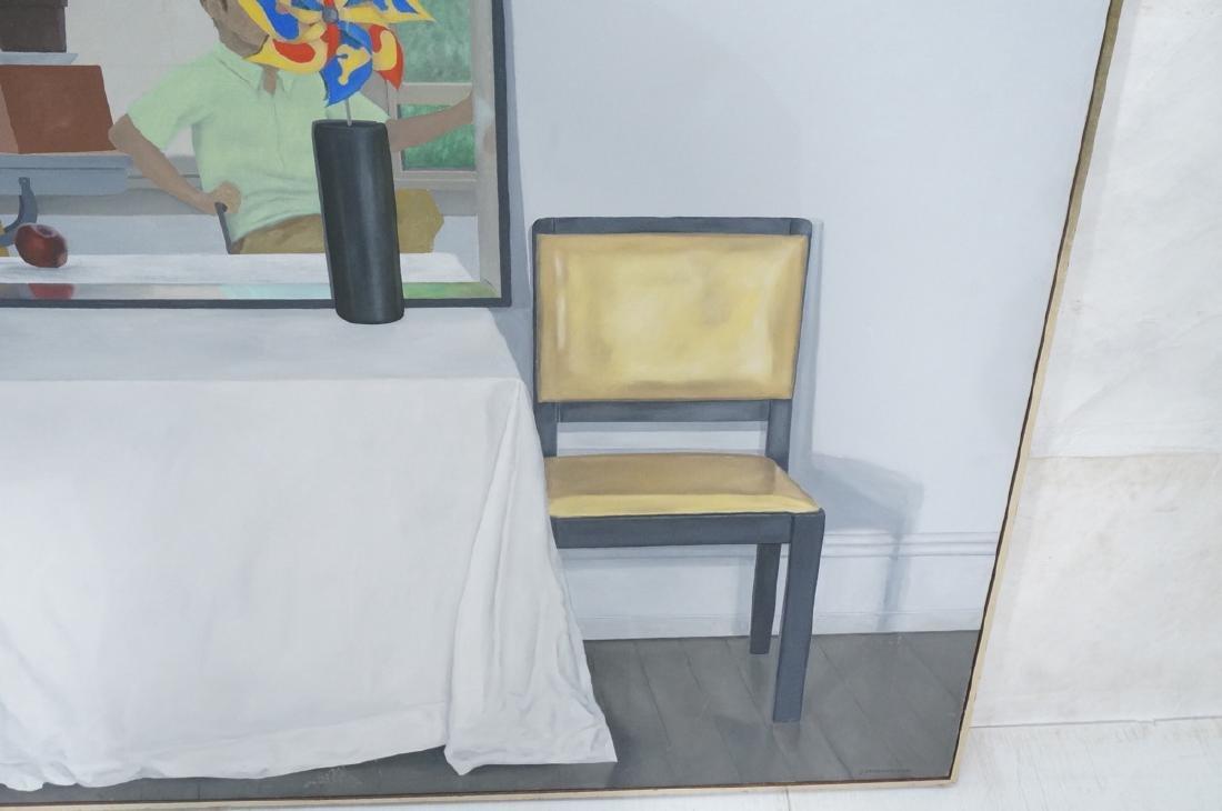 "JESSE VANDENBURG ""Red Apple"" Oil Painting. Still - 5"
