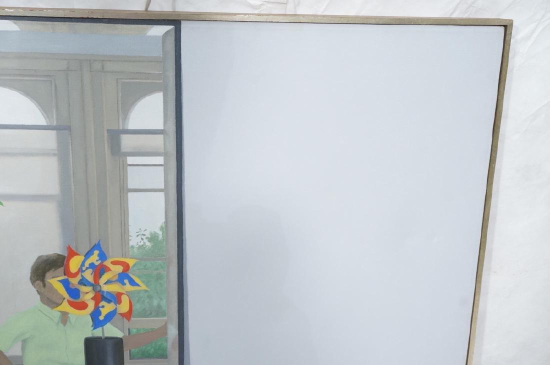"JESSE VANDENBURG ""Red Apple"" Oil Painting. Still - 7"