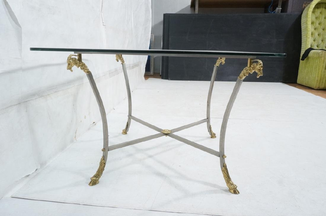 Regency Style Stainless Brass Occasional Table. S - 3