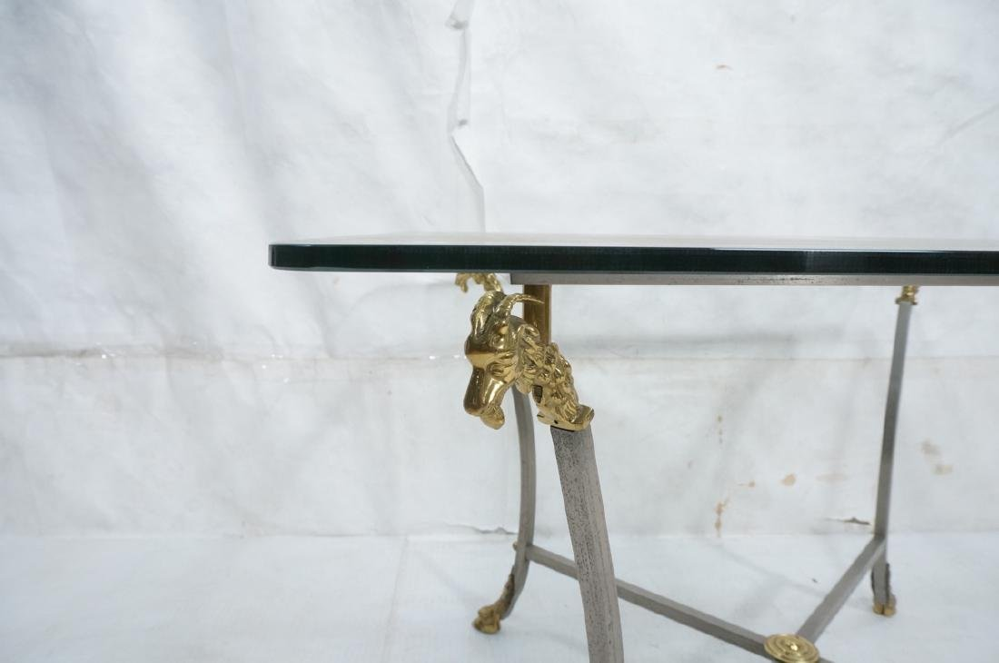 Regency Style Stainless Brass Occasional Table. S - 5