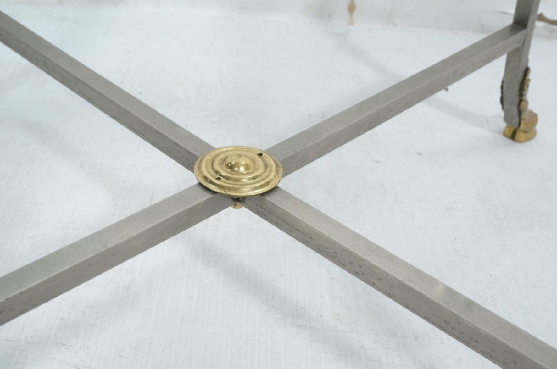 Regency Style Stainless Brass Occasional Table. S - 8