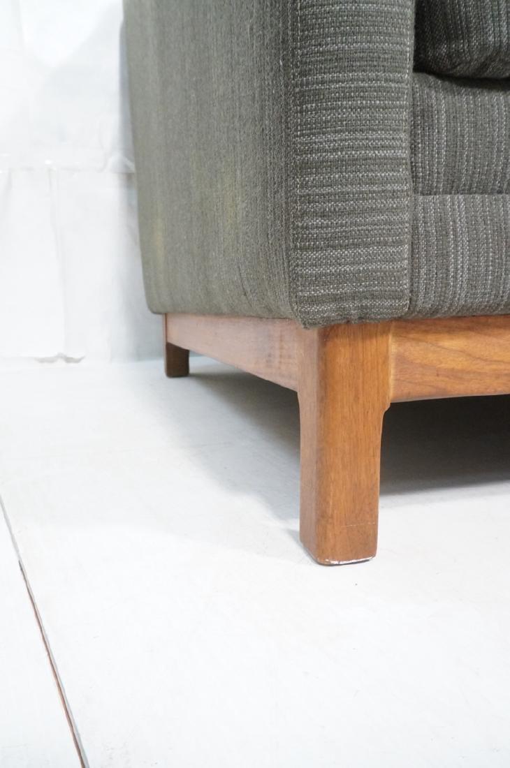 DUX Swedish Modern Sofa Couch Striped Green Fabri - 10