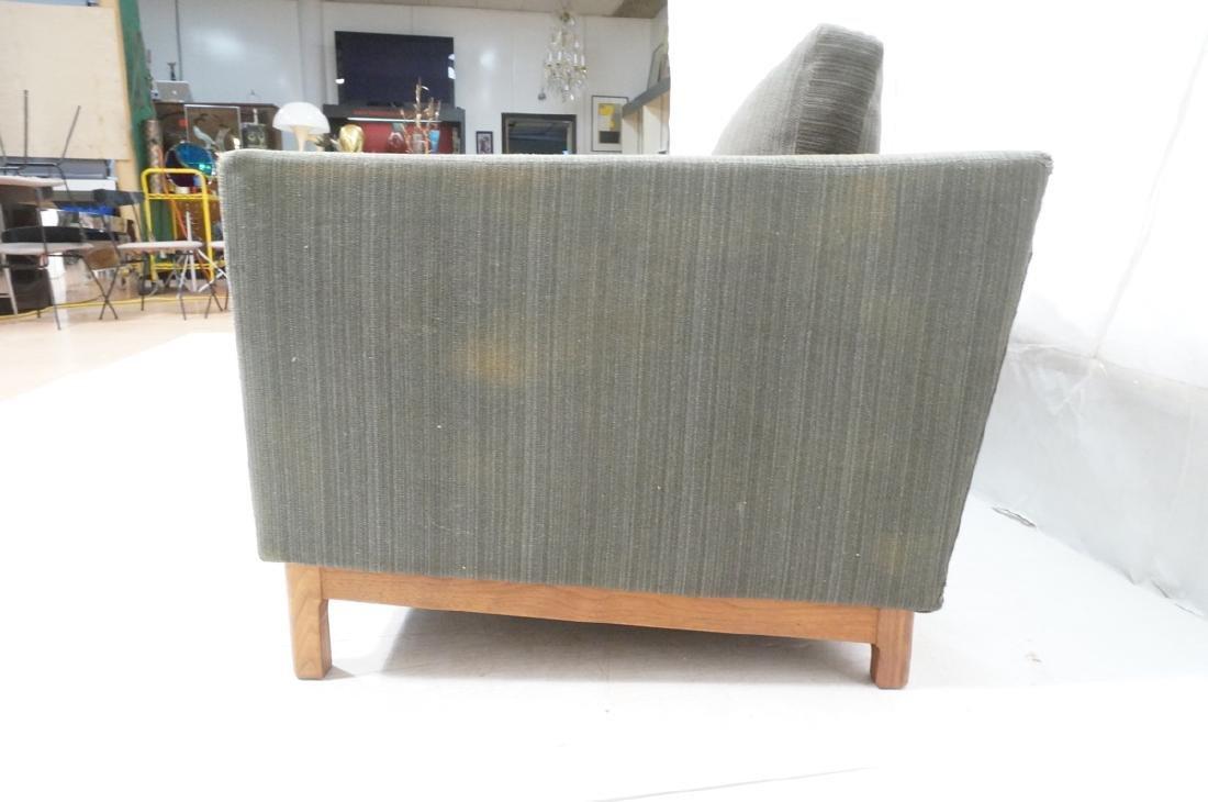 DUX Swedish Modern Sofa Couch Striped Green Fabri - 6