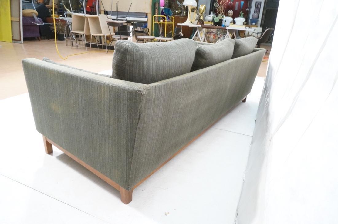 DUX Swedish Modern Sofa Couch Striped Green Fabri - 7