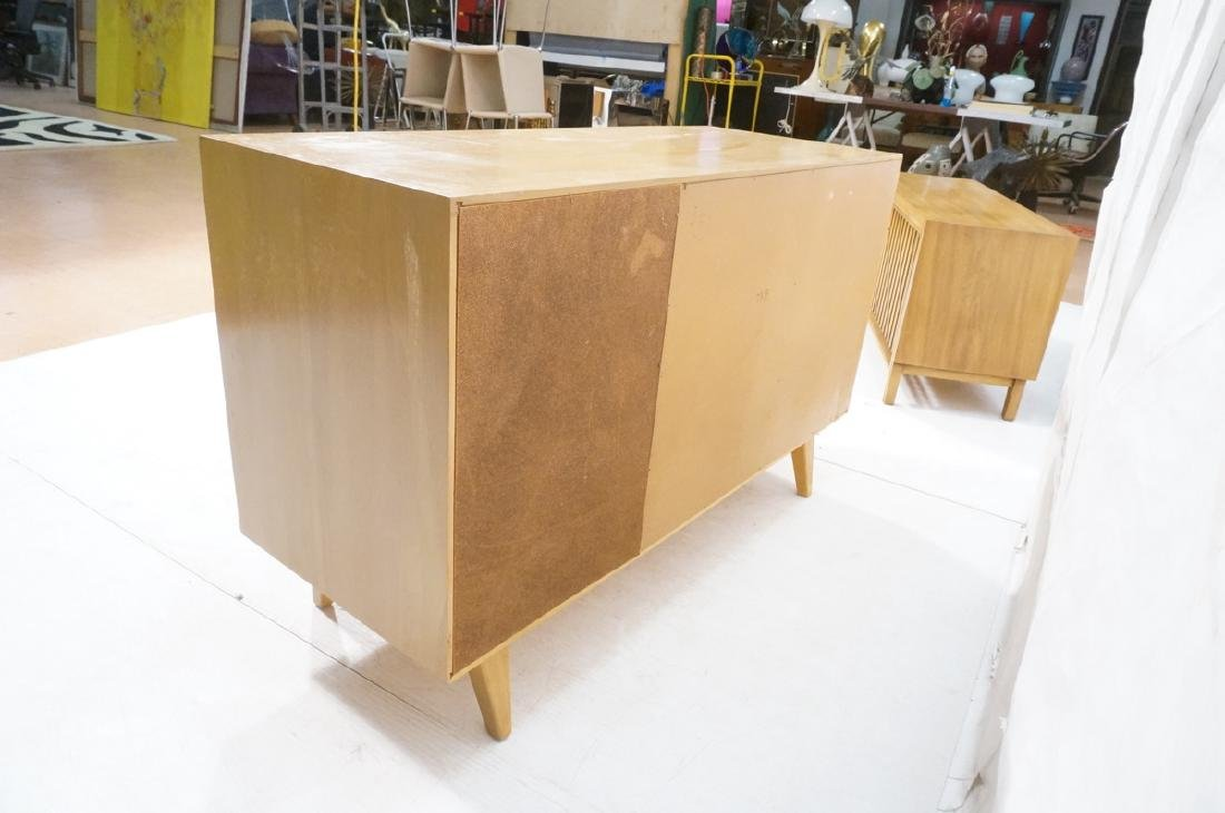 Blond Modern Credenza Sideboard Dresser. 3 drawer - 6