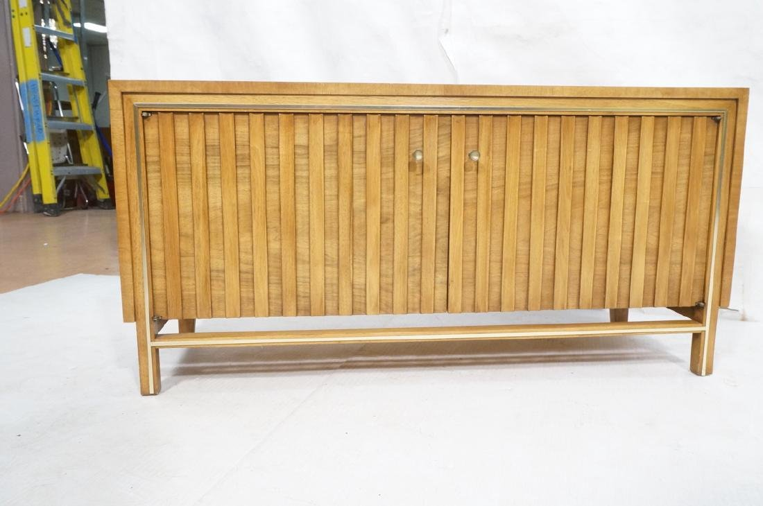 Low 2 Door Cabinet Credenza. Sculptural vertical - 2