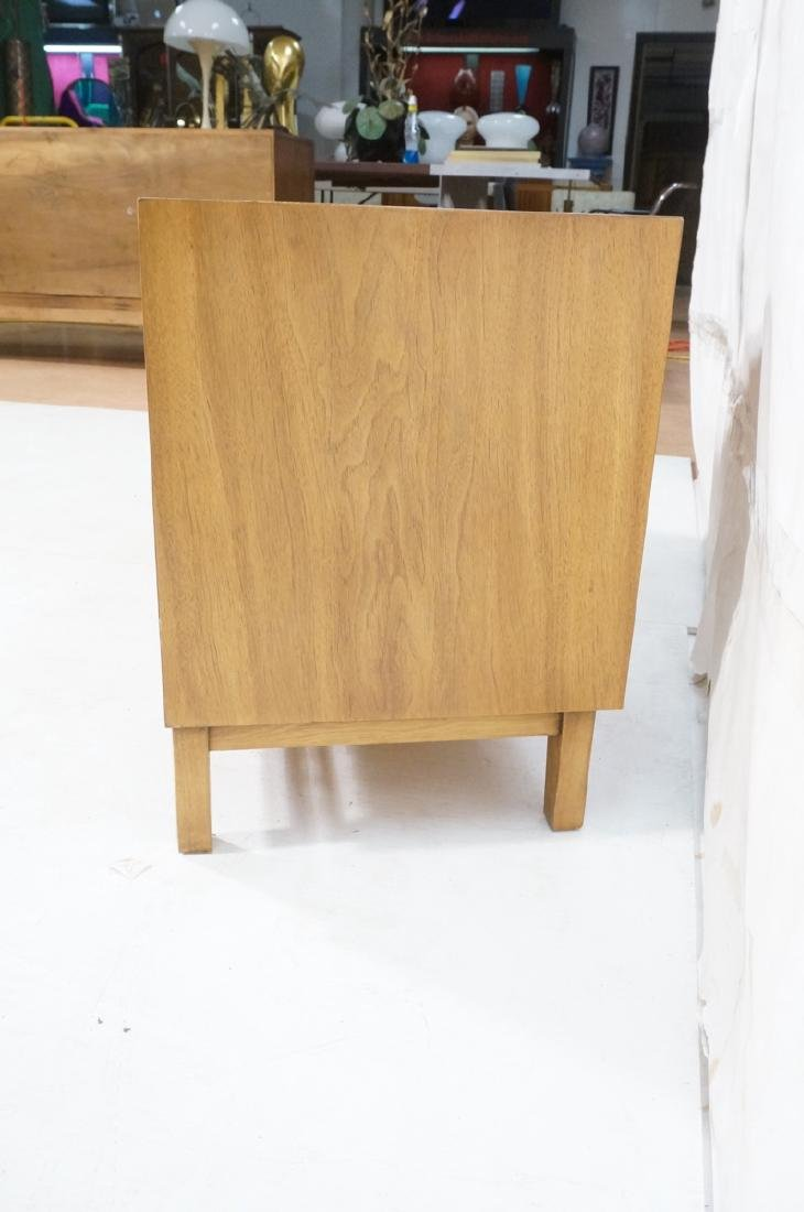 Low 2 Door Cabinet Credenza. Sculptural vertical - 5