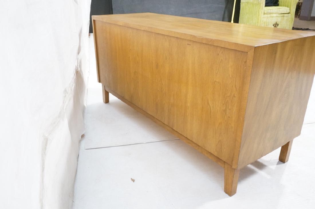 Low 2 Door Cabinet Credenza. Sculptural vertical - 6