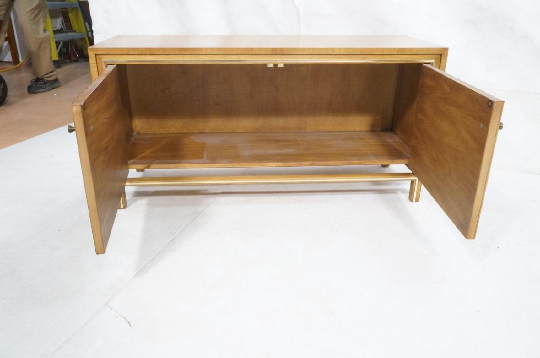 Low 2 Door Cabinet Credenza. Sculptural vertical - 7