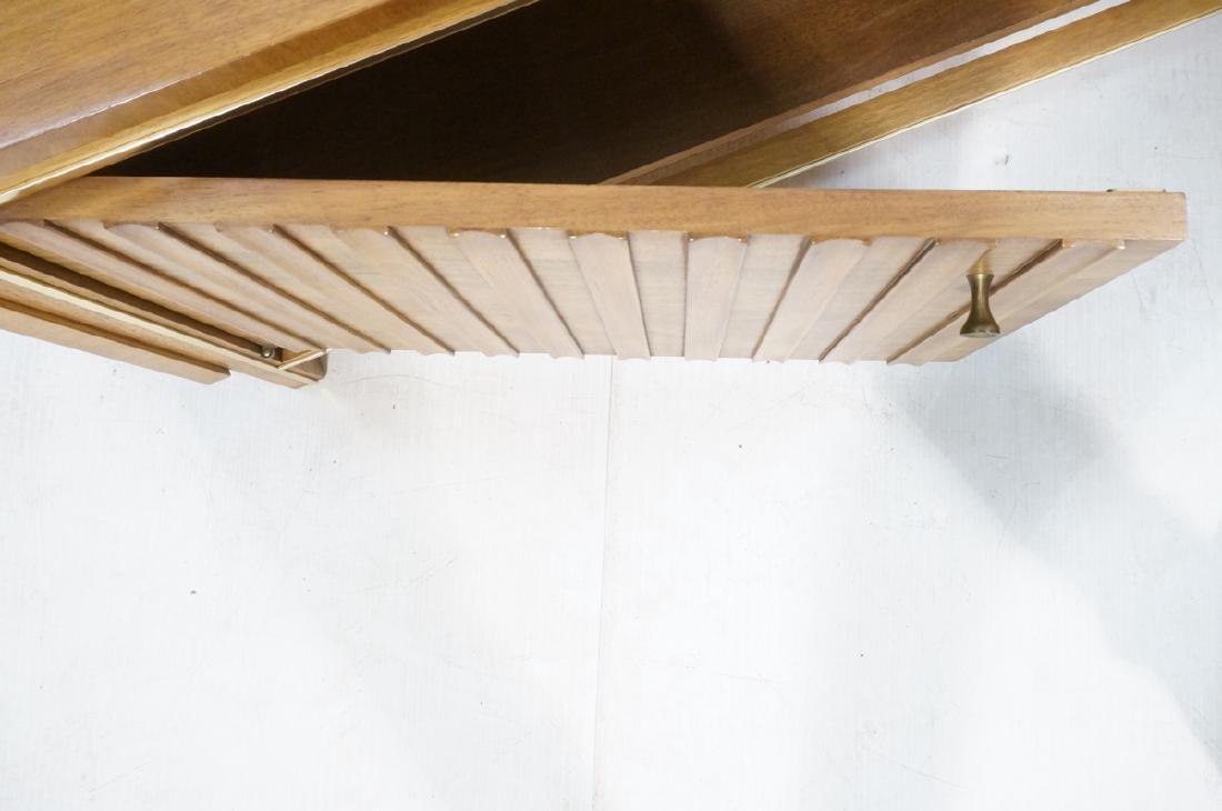 Low 2 Door Cabinet Credenza. Sculptural vertical - 8