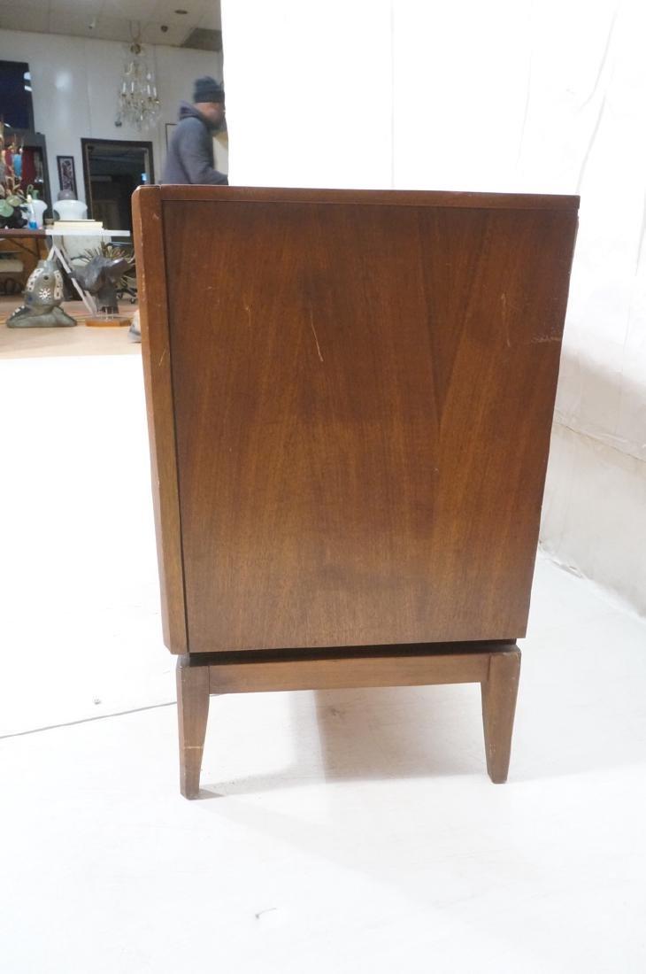 American Modern Walnut Credenza Sideboard. Mid ce - 3