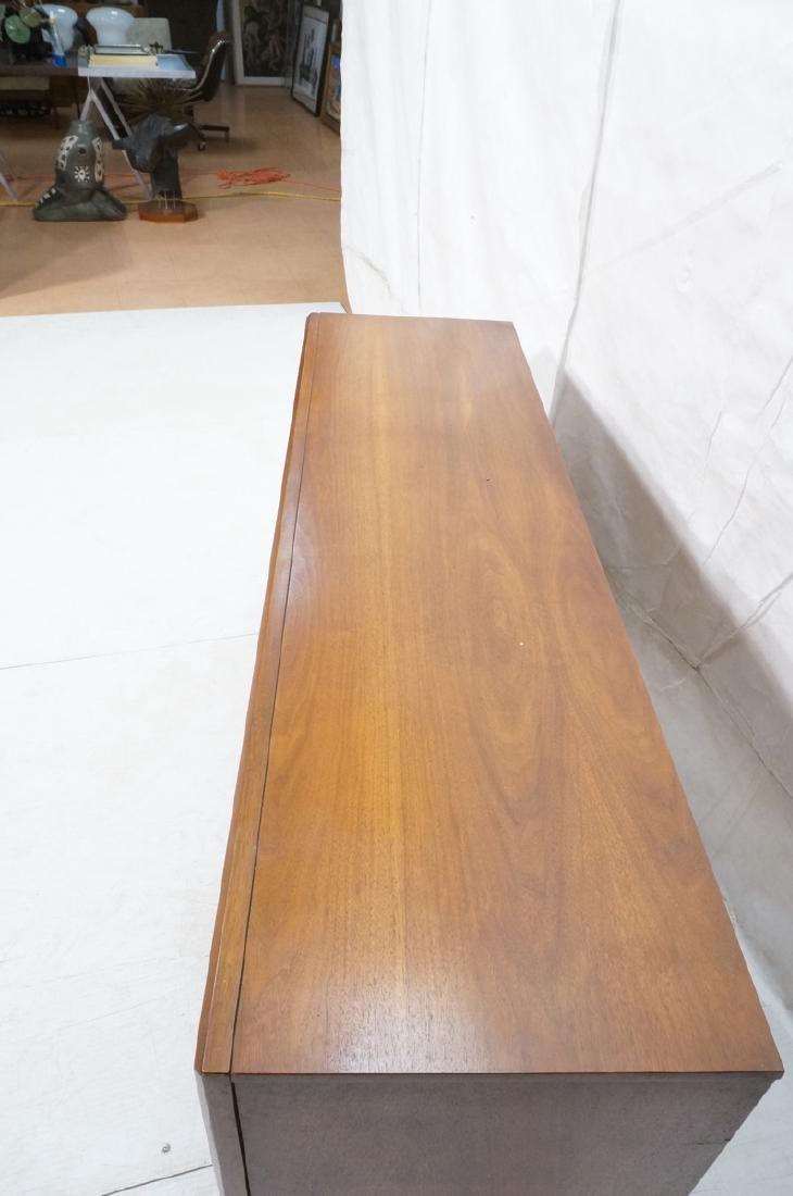 American Modern Walnut Credenza Sideboard. Mid ce - 4