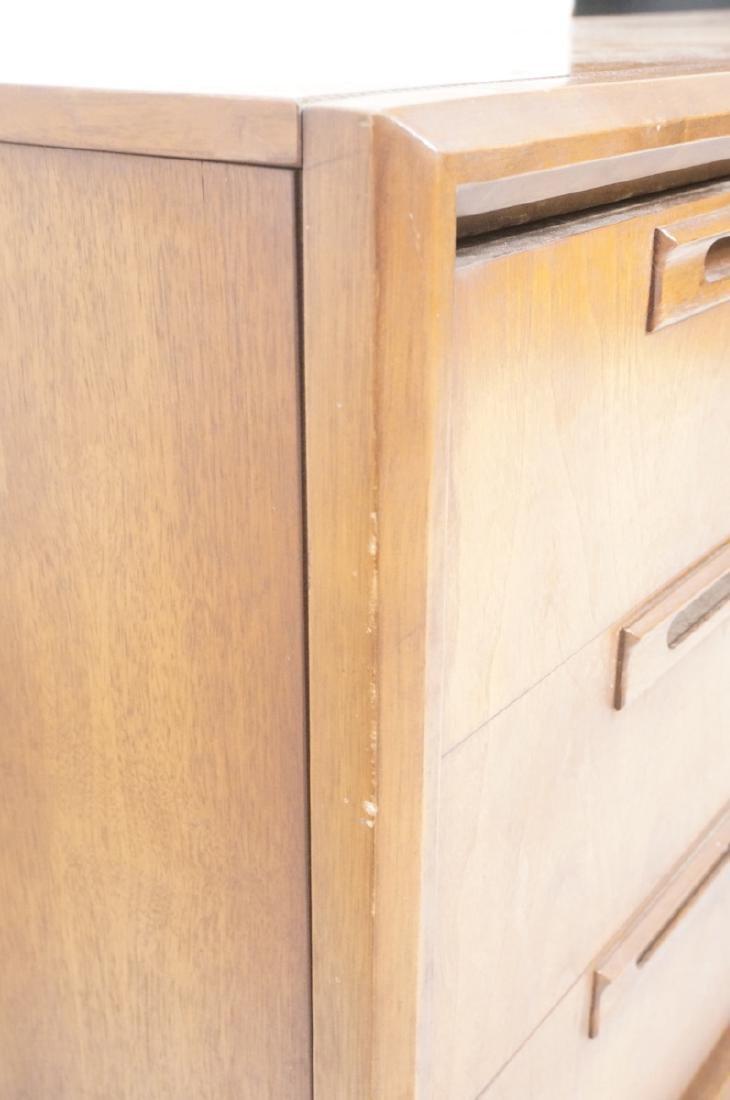 American Modern Walnut Credenza Sideboard. Mid ce - 8