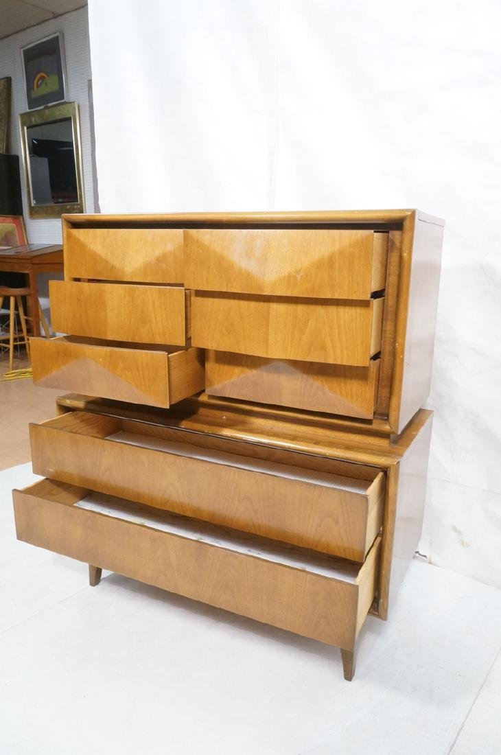 UNITED American Modern Walnut Gentleman's Chest D - 6