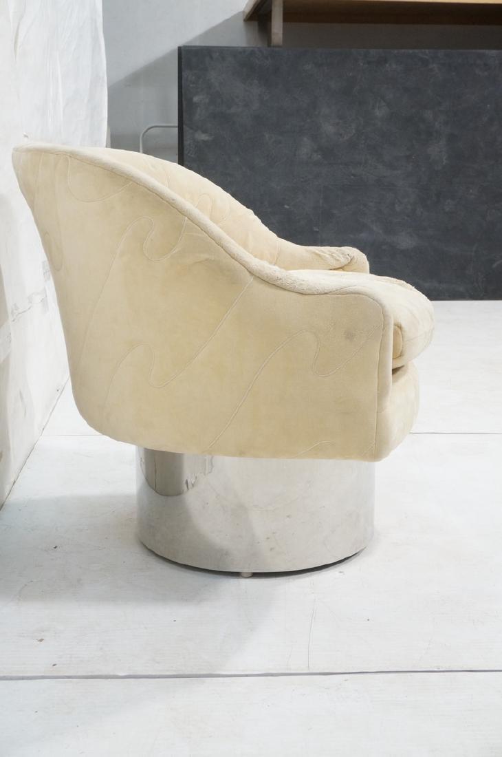 MILO BAUGHMAN Style Modern Lounge Chair. Tall chr - 3