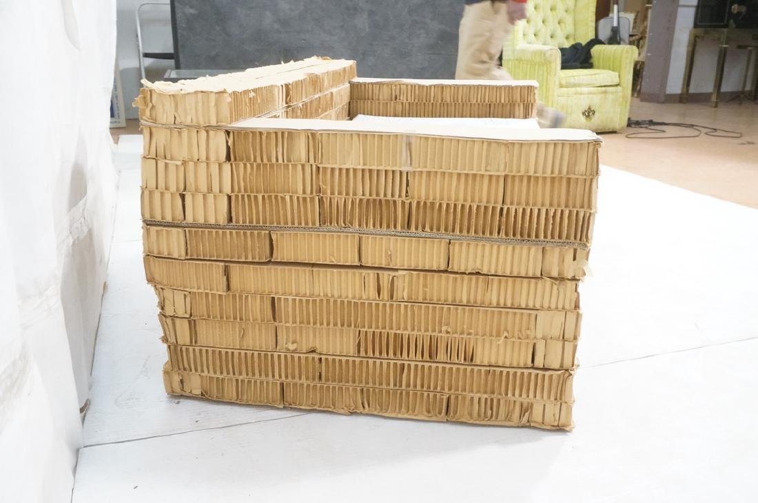 FRANK GEHRY Inspired Corrugated Cardboard Lovesea - 3
