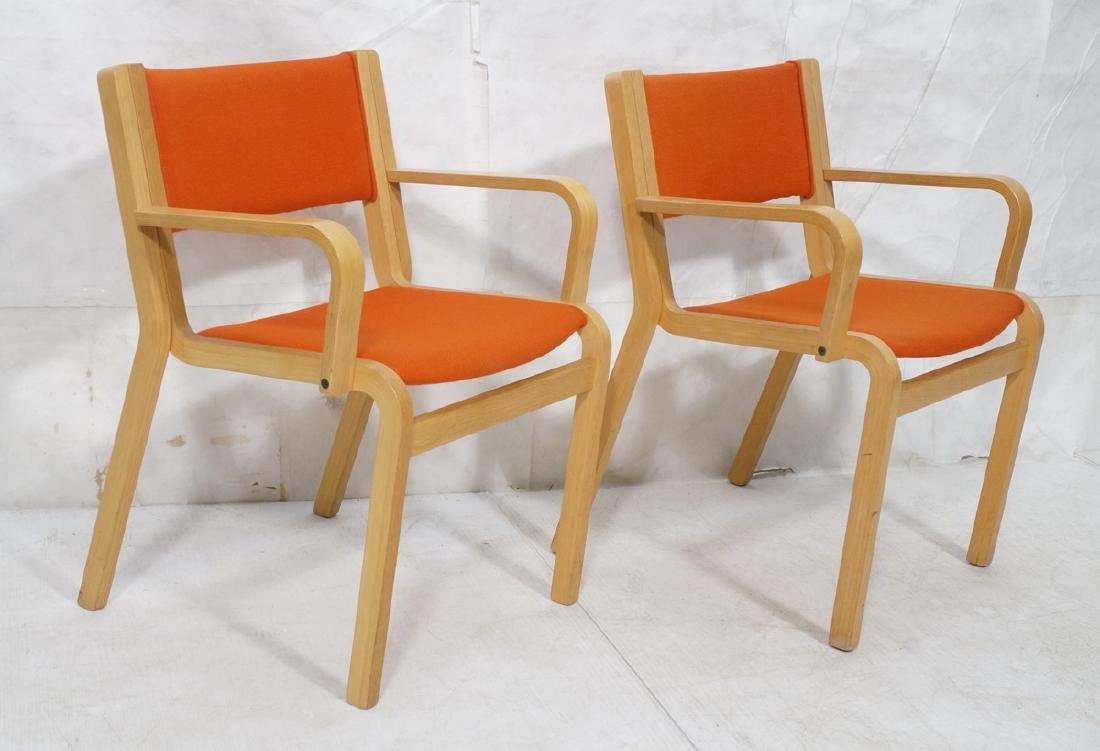 Pr MAGNUS OLESEN for DURUP Danish Modern Chairs.