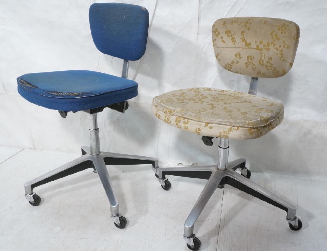 2 Rare KNOLL 76-S Office Desk Chairs. EERO SAARIN