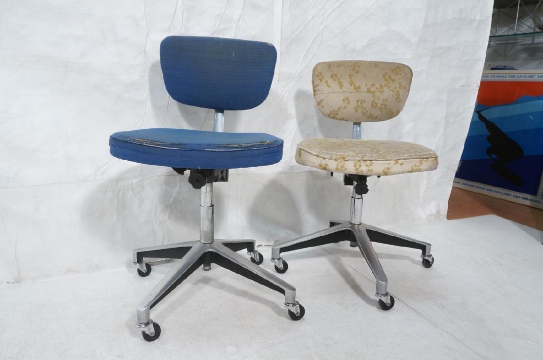 2 Rare KNOLL 76-S Office Desk Chairs. EERO SAARIN - 2